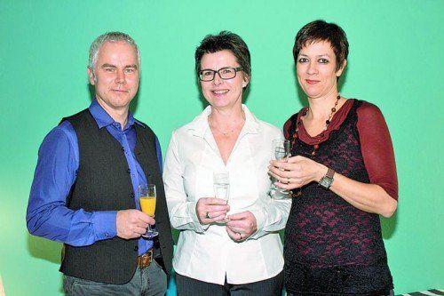 Das Therapeuten-Trio: Thomas Summer, Jasmine Schwarz (M.) und Gabi Benzer. Fotos: Franc