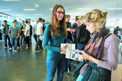 Der Bildungstag der Fachhochschule Vorarlberg im Herbst 2013 zog viele Interessierte an. Foto: VN/Hartinger