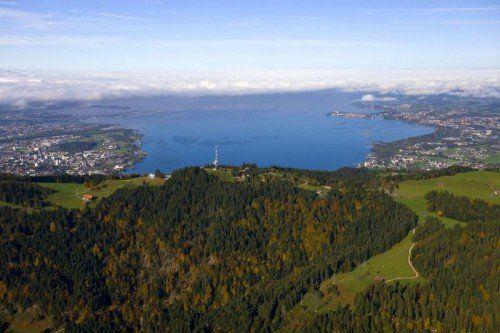 Nicht nur landschaftlich bevorzugt: Die Euregio Bodensee zählt zu den potentesten Wirtschaftsstandorten Europas. mende