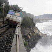 Zugunfall an der Küste Italiens