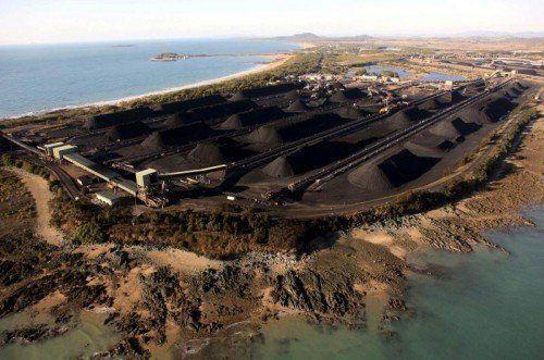 Der erweiterte Hafen soll die Erschließung von Kohle im Volumen von 28 Mrd. Dollar ermöglichen.