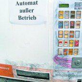 Zigaretten-Automaten sowie Briefkästen mit Böllern gesprengt