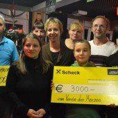 3000 Euro für die kleine Dijana aus Götzis