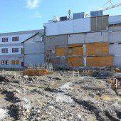 Harder Gemeindesaal wird ab Dienstag gebaut