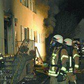 Dornbirner Wohnhaus wegen Brand evakuiert