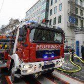 Feuer im Labor der TU Wien