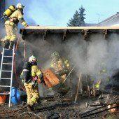 77-jähriger Pensionist bei Brand verletzt