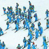 Österreich winkt 300. Medaille