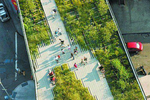 Die Highline in New York sieht Stefan Sagmeister als Vorbild. Foto: Privat