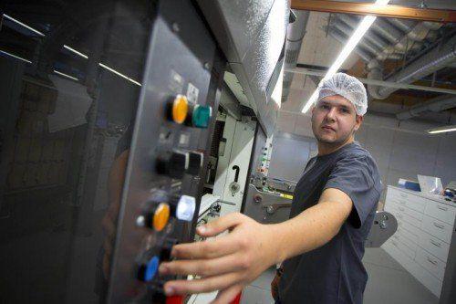 Die Industrie spricht von einem Aufwärtstrend mit vielen Fragezeichen. Foto: VN/Paulitsch