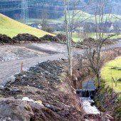 Naturnaher Ausbau im Göfner Ortsteil Dums