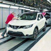 Alle 61 Sekunden ein neuer Nissan Qashqai