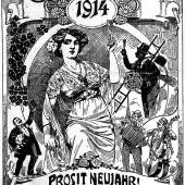 Silvester vor 100 Jahren