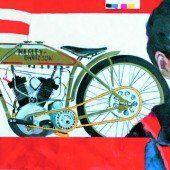 Frauen und Motorräder kombiniert eine Vorarlberger Künstlerin einmal anders
