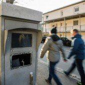 Silvester: Viel Vandalismus und ein Raubüberfall