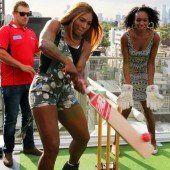 Williams-Schwestern spielten Cricket