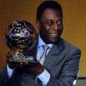 Pelé geehrt für sein Lebenswerk