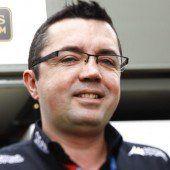 Eric Boullier ist neuer Teamchef bei McLaren