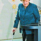Merkel humpelte zum Sternsinger-Empfang