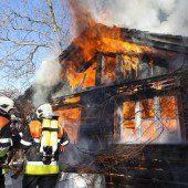 Drei Tote bei Bränden 2013