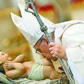 Papst fordert Kraft, Mut und Hoffnung