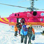 Forschungsreise nimmt mit Rettungsaktion ein glimpfliches Ende