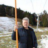 Schneemangel Lokalaugenschein in Gurtis /A6