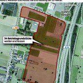 Neues Gewerbegebiet in Rankweil erschlossen