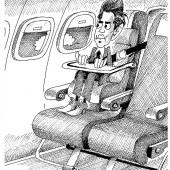 Kurz auf erstem Brüssel-Flug!