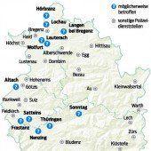 Jede dritte Polizeidienststelle in Vorarlberg auf schwarzer Liste