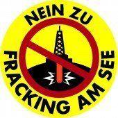 Bereits 15.000 Unterschriften gegen Fracking  Wir fordern ein Fracking-Verbot  Der Bodensee braucht Schutz /A6