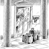Koffer vor der Türe!