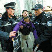 China geht gegen Bürgerrechtler vor