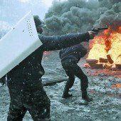 Lage in Kiew eskaliert