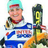 Elisabeth Görgl Sieg im Super-G von Cortina /c1