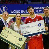 Welthandballer aus Kroatien und Serbien