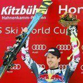 Kitzbühel-König Triumph von Hannes Reichelt/c1