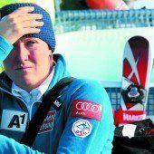 Die Olympiasiegerin muss bangen
