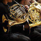 Blasorchester in der Kirche
