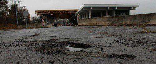 Geht es nach den Betreibern, sollen im Herbst die Bagger beim ehemaligen Autobahnzollamt auffahren.