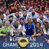 Drittes EM-Gold für Frankreich