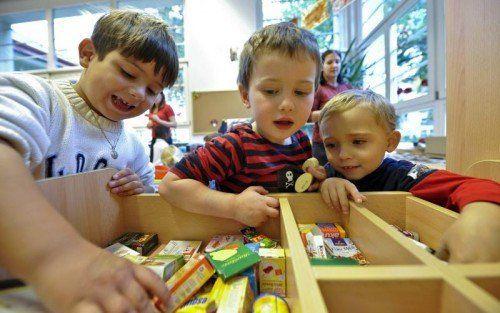 Seit 2014 wurden die jährlichen Investitionen in die Kinderbetreuung verdoppelt. APA