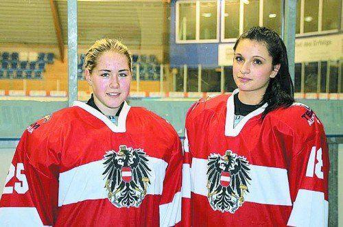 Heimvorteil mit dem Nationalteam: Natalie Hämmerle. Foto: privat