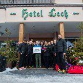 Im Wintersport-Eldorado Lech Kraft getankt