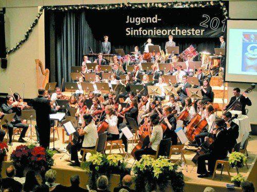 In Bludenz stampft man in einem gemeinsamen Kraftakt aller sieben Musikschulen des Bezirkes zum Jahreswechsel ein eigenes Projektorchester aus dem Boden.  Foto: JU