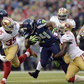 Seattle Seahawks im Super Bowl gegen Denver Broncos
