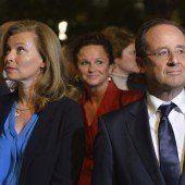 Präsident Hollande gab Trennung bekannt