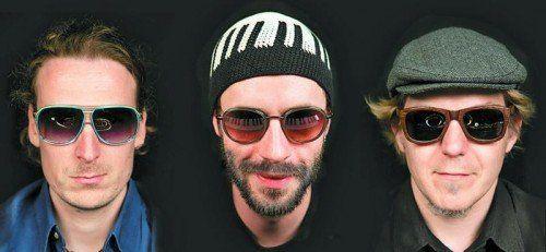 Johannes Bär, David Helbock und Andreas Broger.  Foto: Severin Koller
