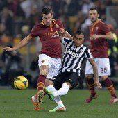 AS Roma wirft Juventus aus dem Cup