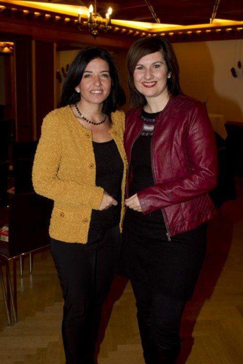 Manuela Auer (l.) und Sabine Rudigier. Fotos: franc